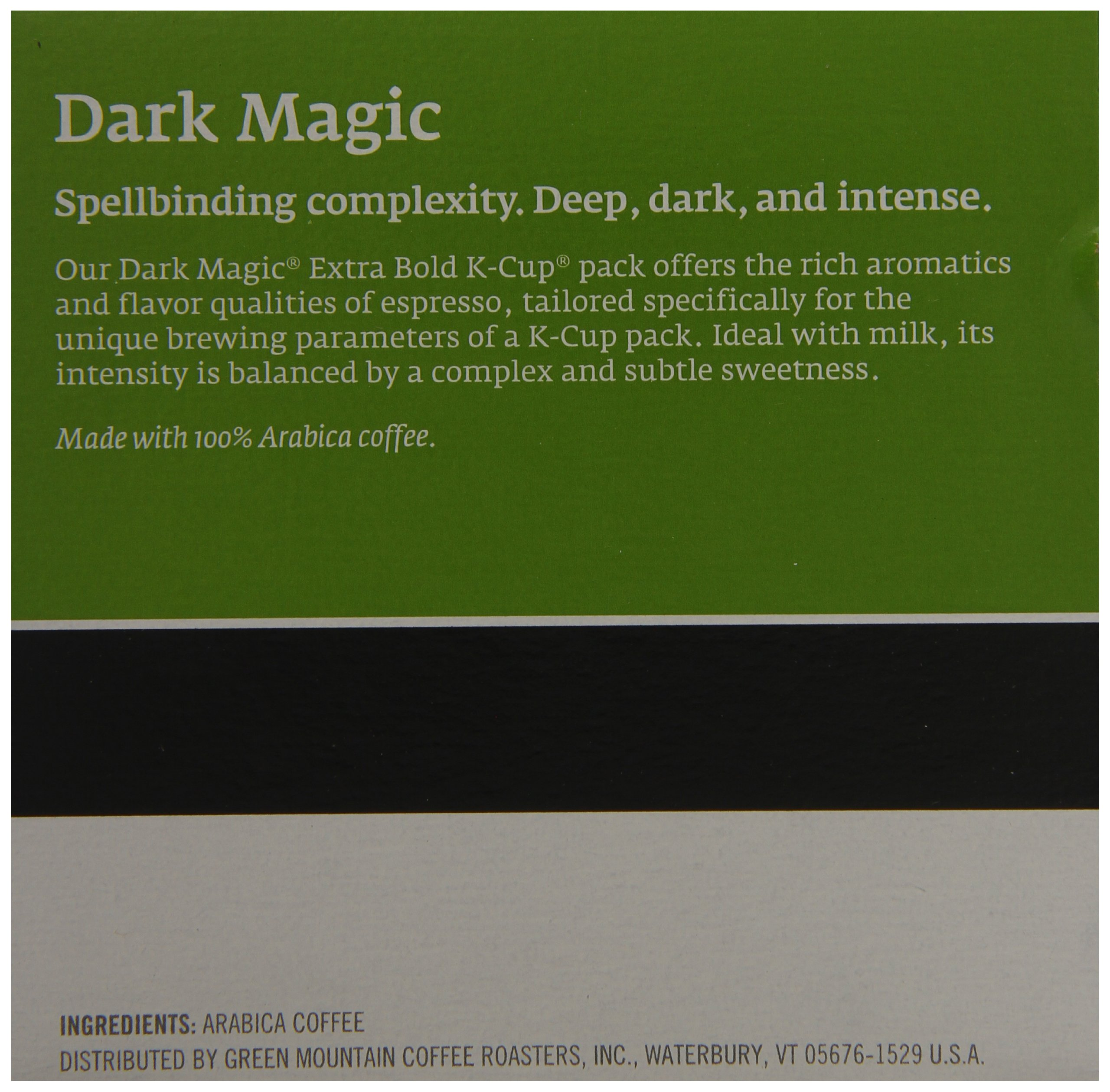 Green Mountain Coffee, Dark Magic (Extra Bold), 12-Count K-Cup Portion Pack for Keurig Brewers (Pack of 3) by GREEN MOUNTAIN COFFEE ROASTERS (Image #4)