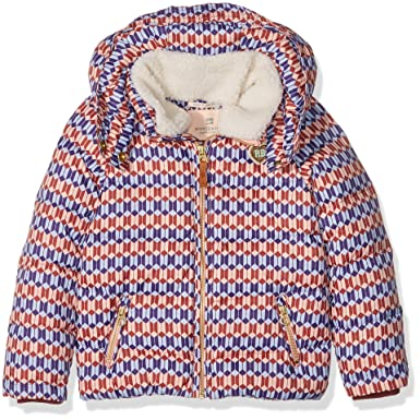 69b164256 Scotch   Soda R Belle Girl s Mixed Down Detachable Hood   Teddy ...