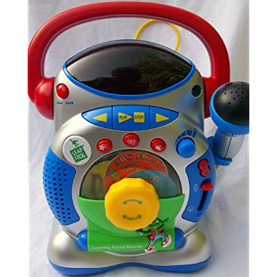 Leap Frog Learning Screen Karaoke Toy: Toys & Games