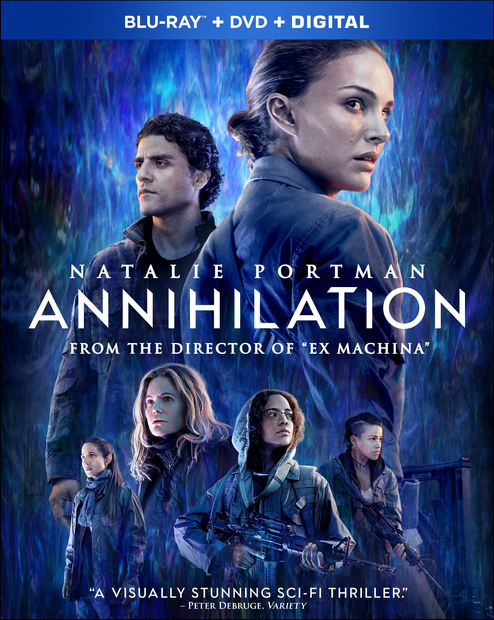 Blu-ray : Annihilation (With DVD, Dolby, AC-3, Digitally Mastered in HD, 2 Pack)