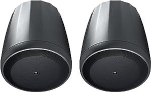 JBL Professional C65P/T Compact Full-Range Hanging Pendant Speaker, Black, Sold as Pair