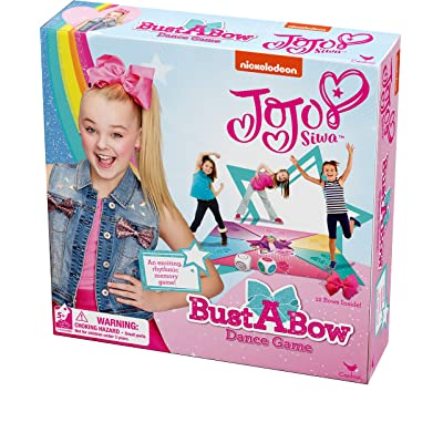Cardinal Games JoJo Siwa Bust A Bow Dance Action Game: Toys & Games