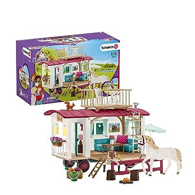 SCHLEICH Caravan for Secret Club Meetings: Schleich: Toys & Games