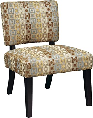 Amazon Com Baxton Studio Benson French Script Patterned