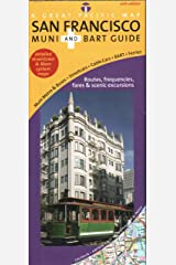 San Francisco Transit/ Muni & BART Map, 10th Edition Map