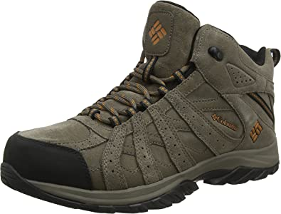 Columbia Canyon Point Leather Omni-Tech Chaussures de Randonn/ée Basses Homme