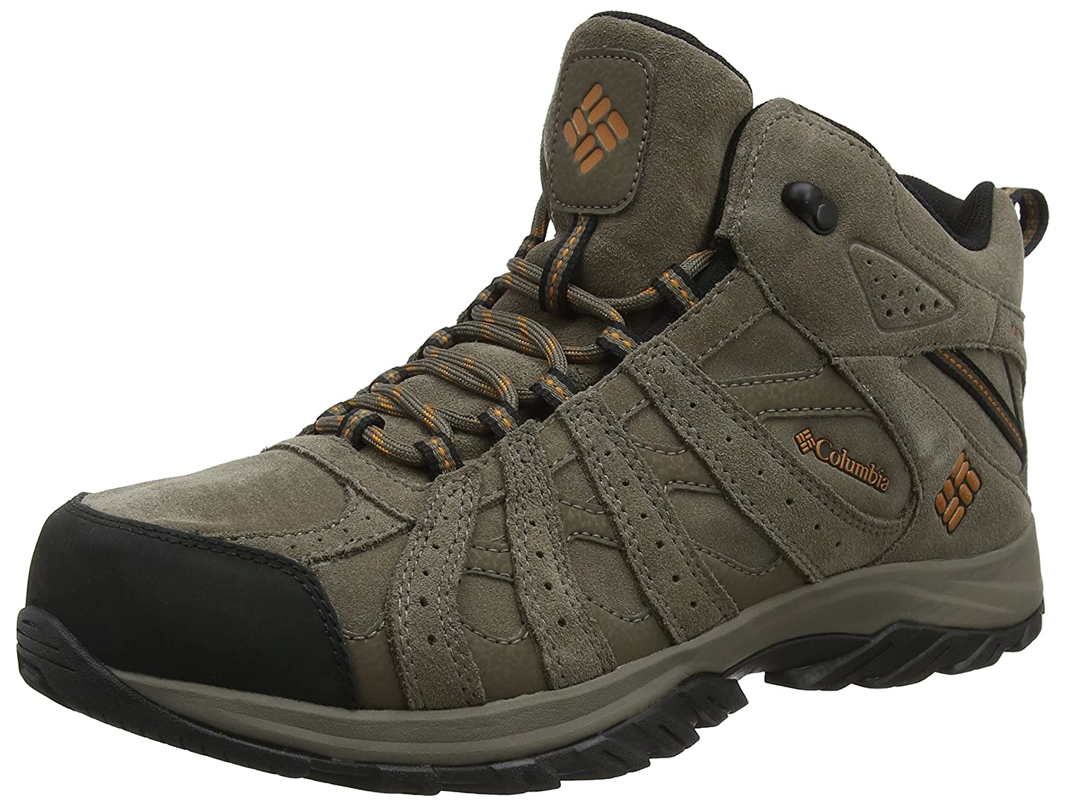 TALLA 43.5 EU. Columbia Canyon Point Mid Leather Omni-Tech, Zapatillas de Senderismo para Hombre