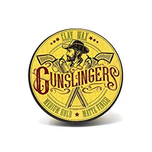 Gunslingers Vegan Friendly Thick Texture Clay Wax, containing Natural Clay for extra Matte Effect 75ml