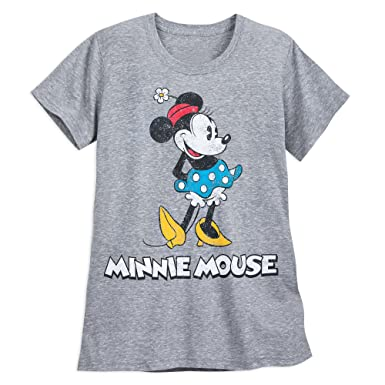 3f773e4a50f Disney Minnie Mouse Classic T-Shirt Women - Gray - Plus Size Size Ladies 3XL