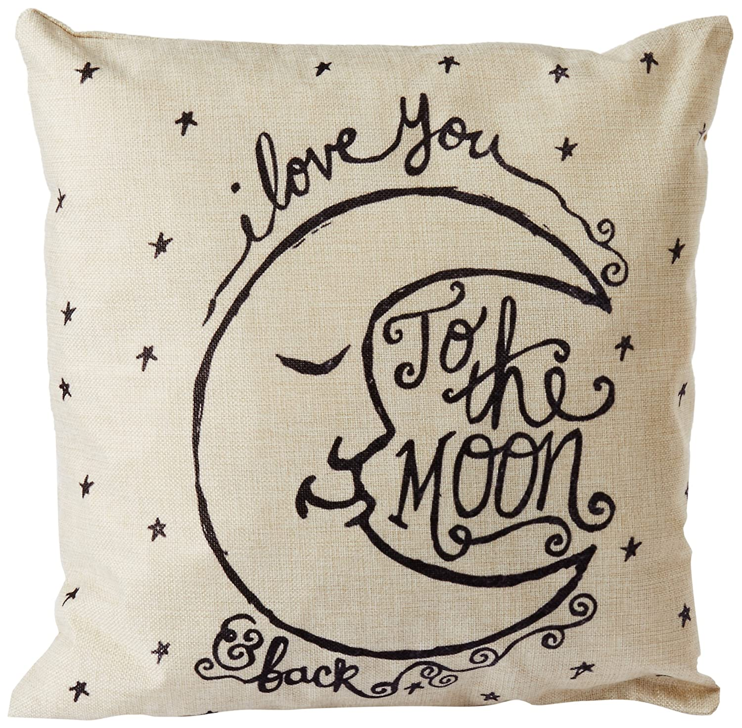 Amazon CoolDream I Love You to the Moon and Back Cotton Throw