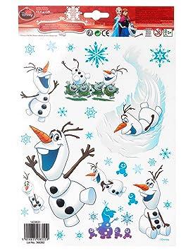 COOLMP - Lote de 12 Adornos para Ventanas de Olaf Frozen, 20 ...