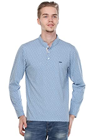76d69e4f Crimsoune Club Light Blue Printed T Shirts: Amazon.in: Clothing &  Accessories