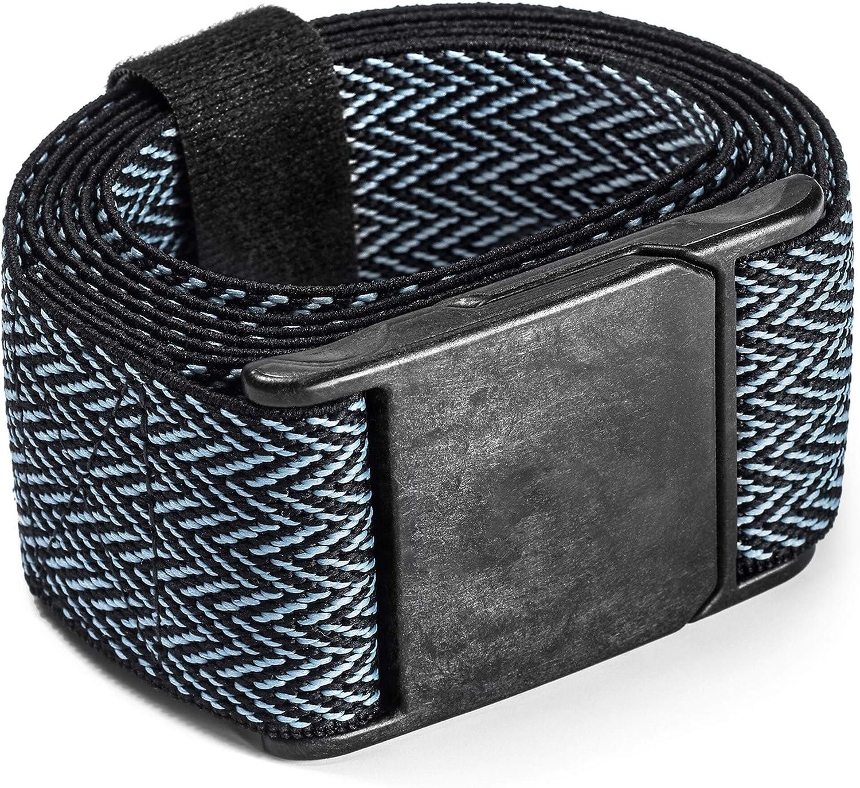 "EXPAND A BAND BELT Fantastic Quality STRETCH Belt One Size Plain 28/""-48/"" Waist"