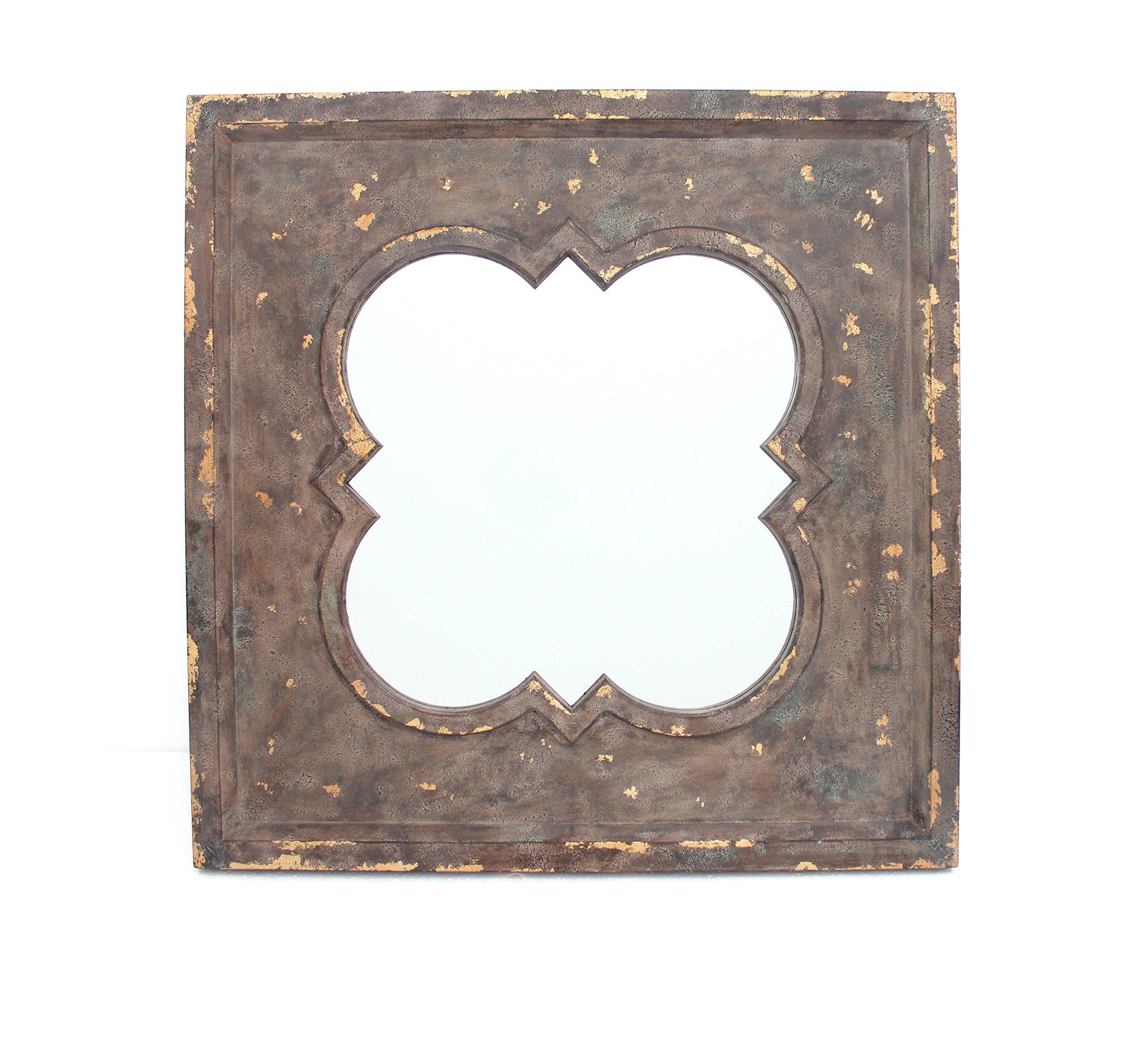 Teton Home WD-076 Wood Mirror