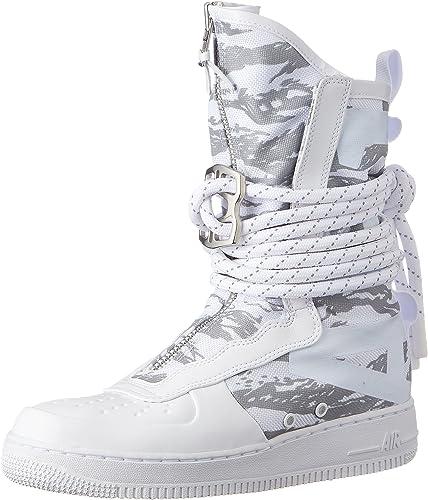 Nike SF AF1 Botas altas para hombre, Blanco/blanco/blanco, 9.5 US