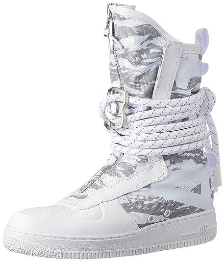 Nike SF Af1 Hi Prm, Scarpe da Ginnastica Uomo, Bianco