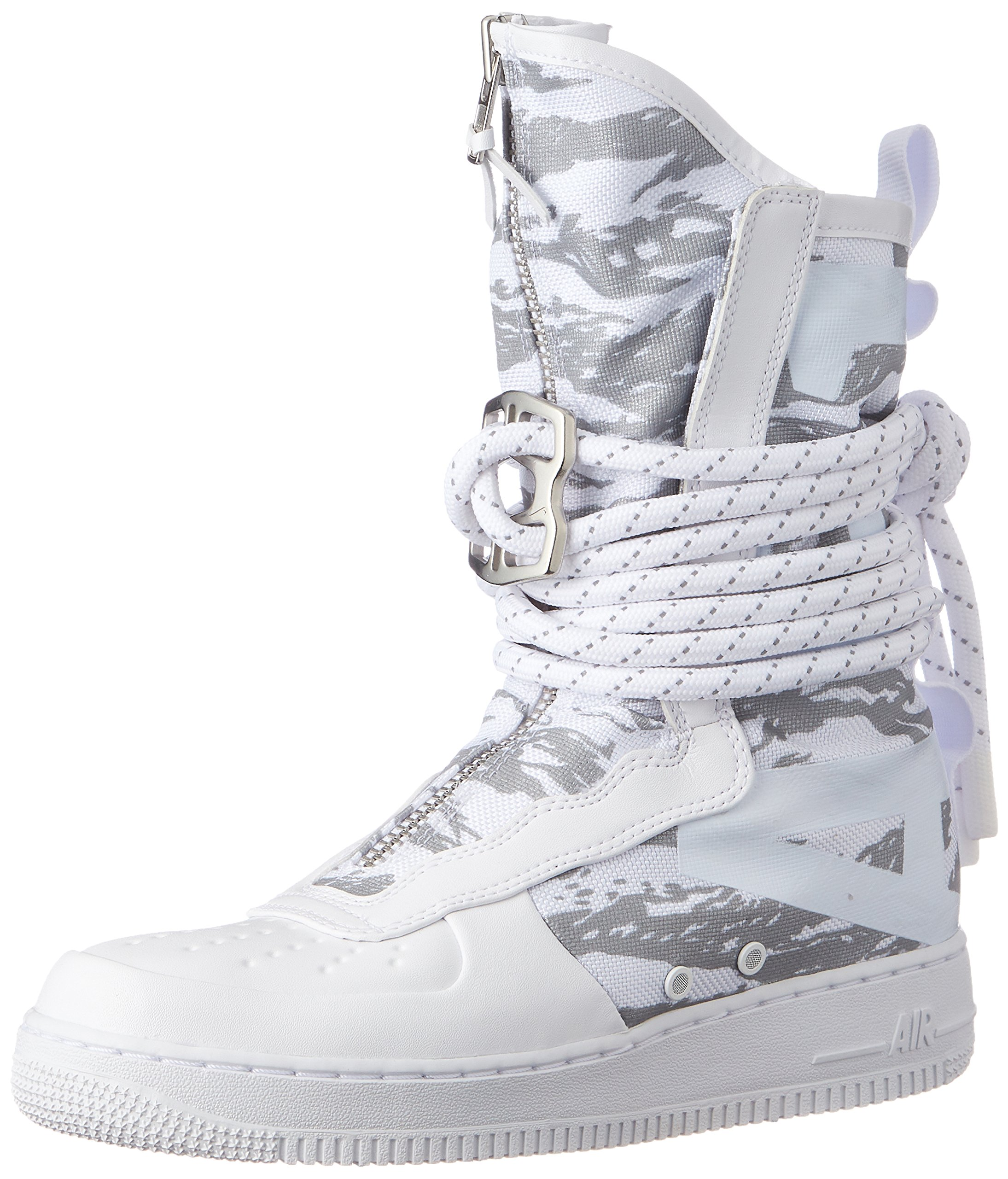 NIKE SF Air Force 1 High Top Premium Mens Boots WhiteWhiteWhite aa1130 100
