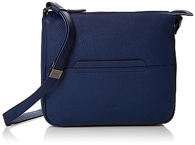 Bree Faro 2, Blueprint, Cross Shoulder M S18, Sacs bandoulière femme, Blau , 9x30x29 cm (B x H T)