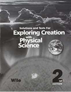 Amazon exploring creation with physical science 9781932012774 solutions and tests for exploring creation with physical science fandeluxe Choice Image