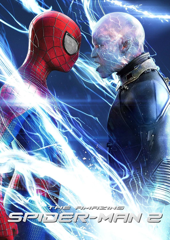 Amazon Com Wmg The Amazing Spider Man 2 2014 Movie Poster Thick Poster Original Size 24x36 Inch Andrew Garfield Emma Stone Jamie Foxx Posters Prints