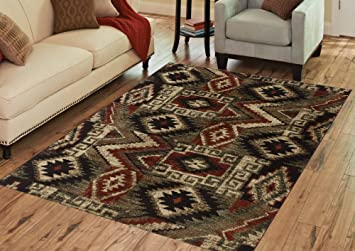 Amazon Com Benissimo Contemporary Madrid Collection Area Rug By
