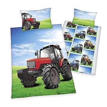 Herding Young Collection Bettwasche Set Traktor Wendemotiv