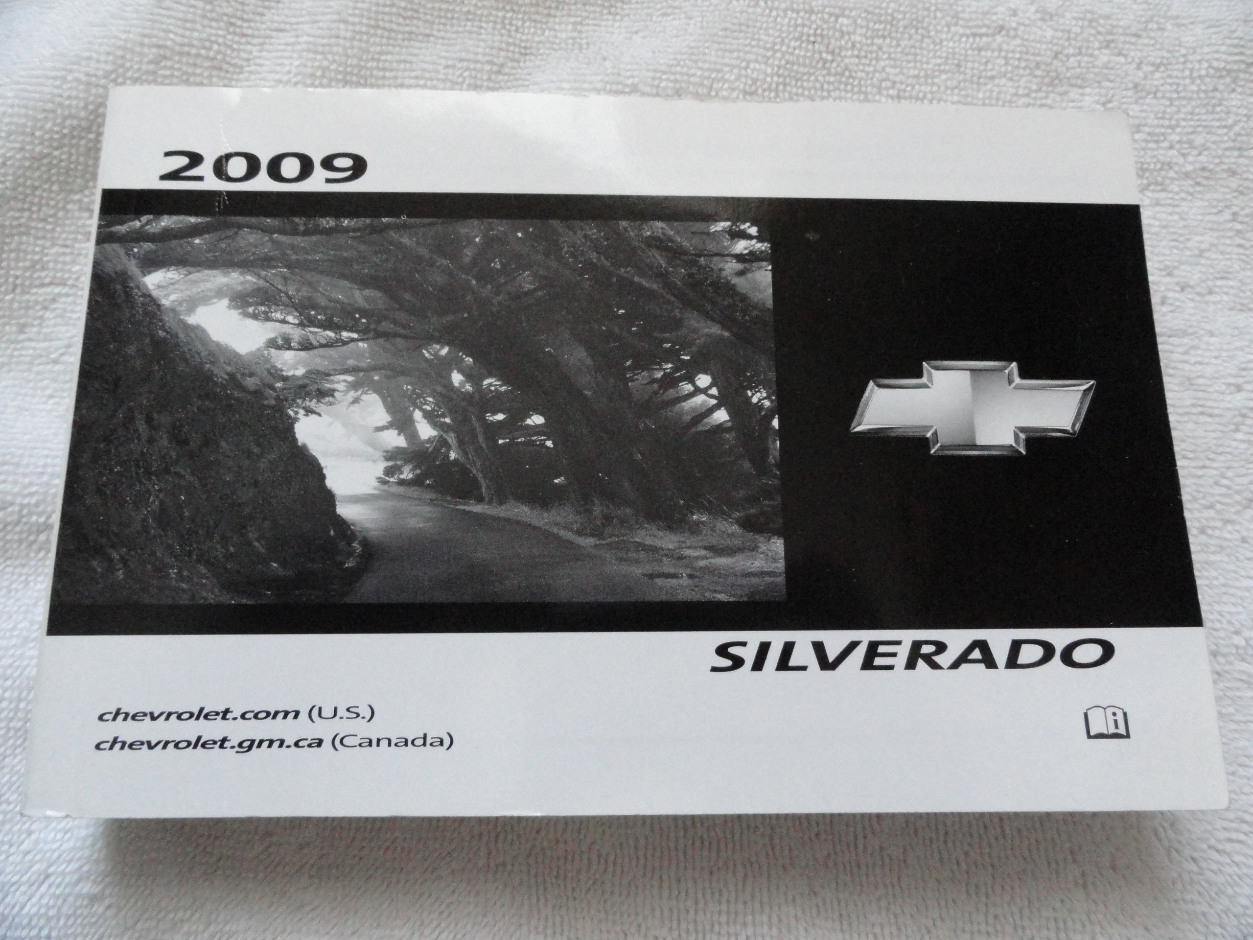 2009 SIERRA SILVERADO OWNERS MANUAL GMC CHEVROLET OWNER/'S BOOK