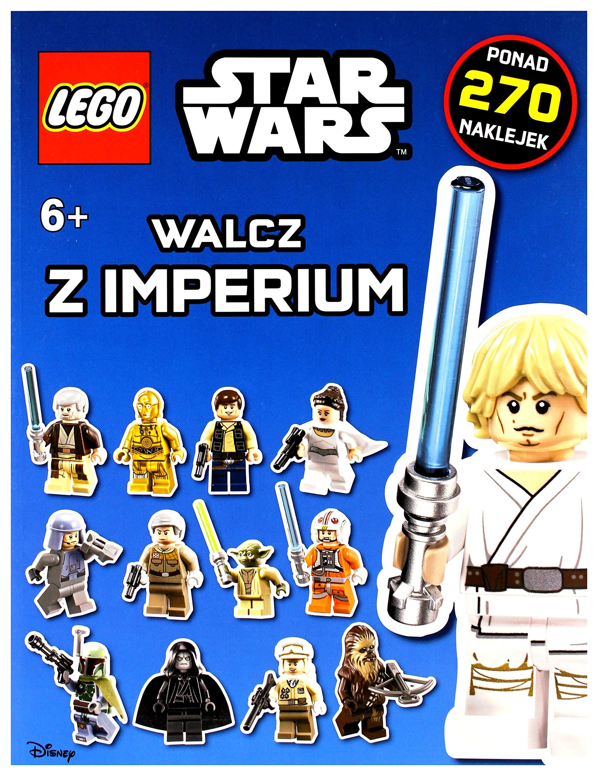 Lego Star Wars Walcz Z Imperium Opracowanie Zbiorowe 9788325321895