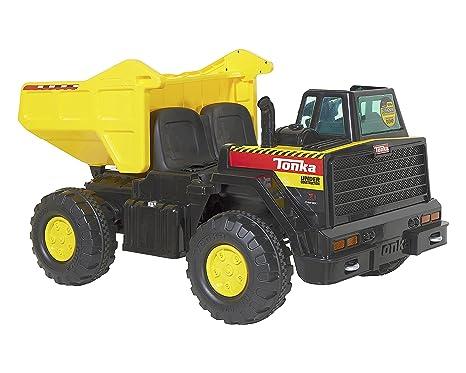 Tonka Construction Toys For Boys : Amazon tonka v dump truck ride on sports outdoors