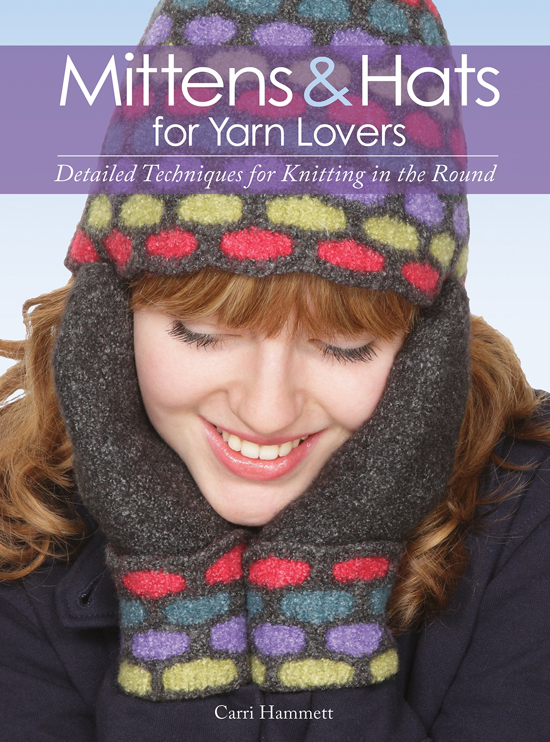 Mitten for lovers: knitting technique (photo)