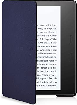 Forefront Cases Funda para Kindle Oasis 2019 | Estuche Protectora con Cierre Magnético para Amazon Kindle Oasis 2019 (10.ª generación) | Ultra Delgado Ligero | Azul Marino + Lápiz: Amazon.es: Electrónica