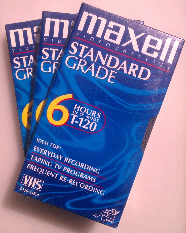 Standard-Grade VHS Videocassette