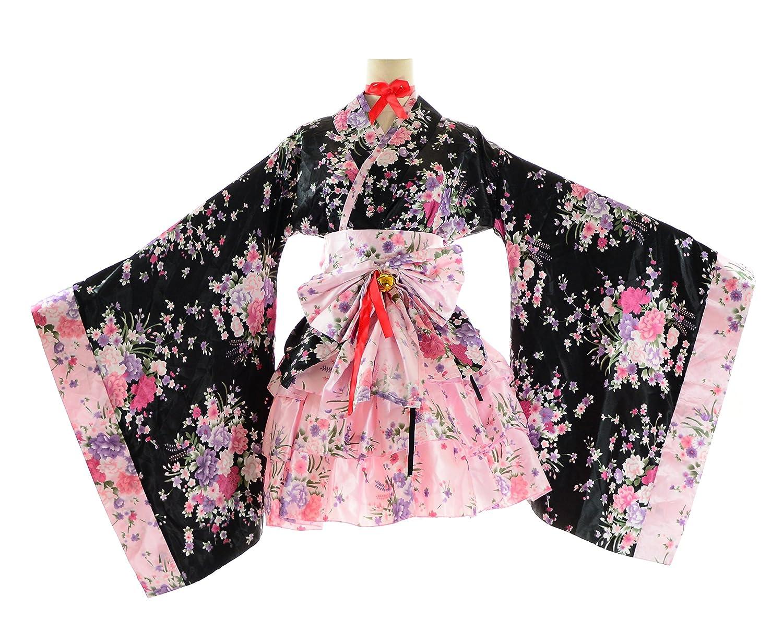 amazoncom bs japan anime uniforms plus size kimono dress 1x5x clothing
