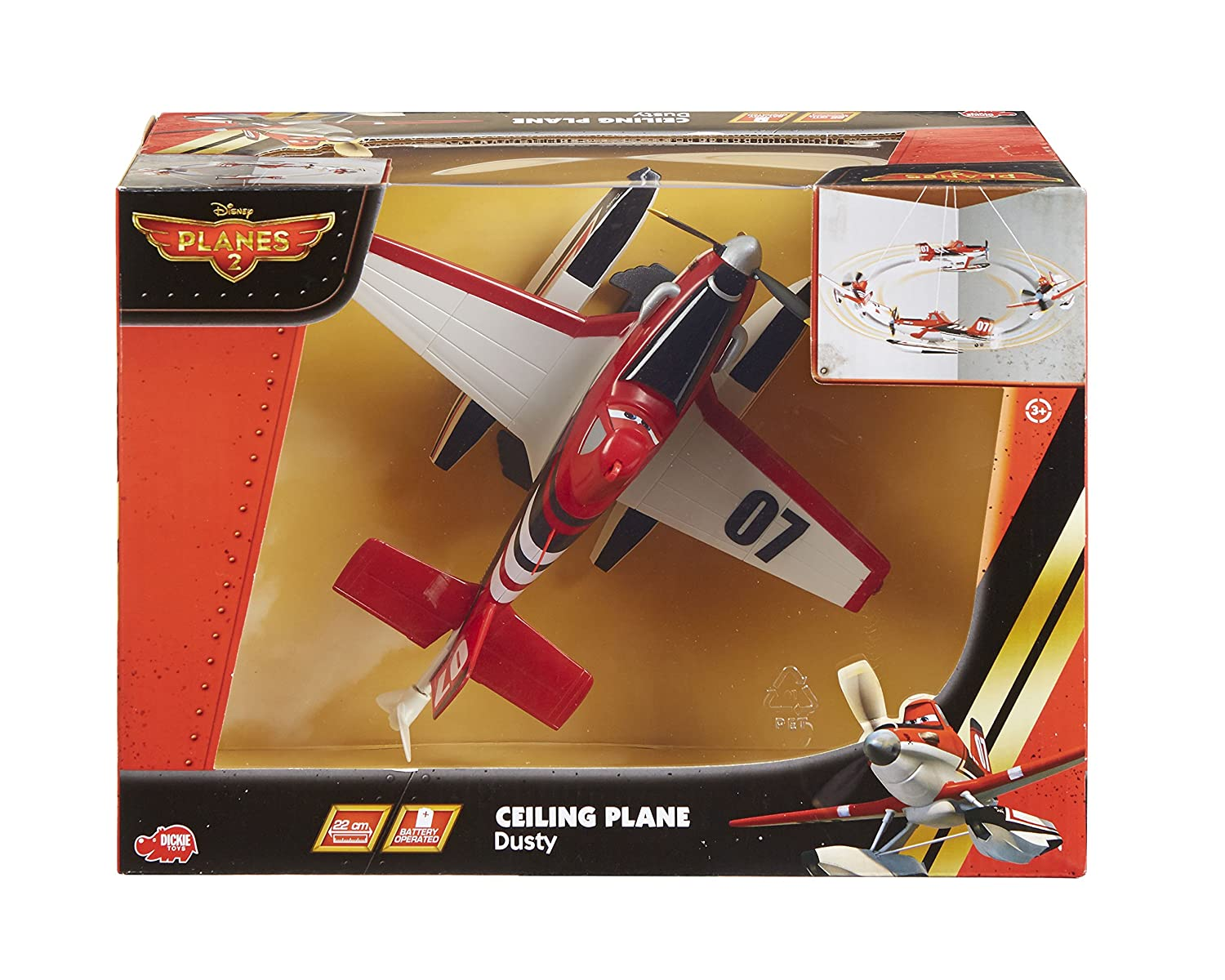 Amazon.com: Planes Dusty Ceiling Plane: Toys & Games