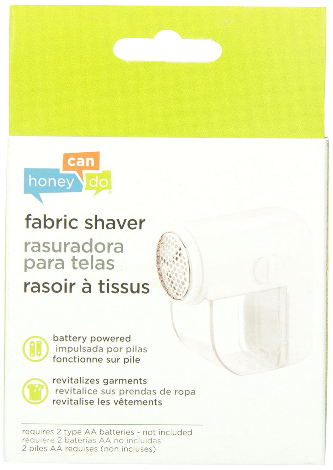 Amazon.com: Honey-Can-Do LNT-02093 Electric Fabric Shaver with Brush, White: HONEY-CAN-DO INTERNATIONAL: Home & Kitchen