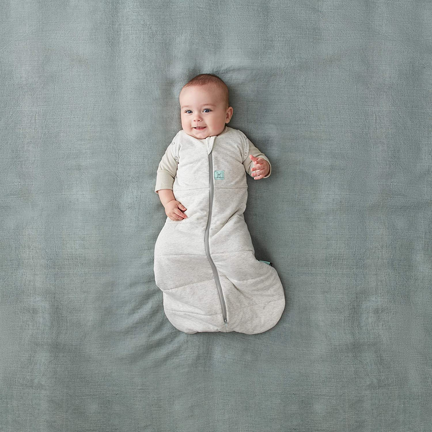 ErgoPouch Cocoon Winter Swaddle and Sleep Bag 2.5 Tog 0-3 months White Natural 3-7kgs