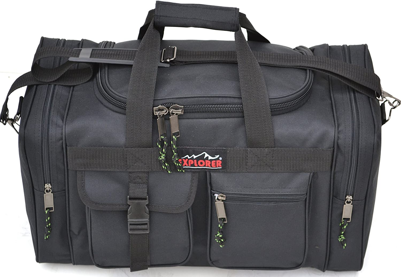 Explorer 4-Pocket Square Duffel Bag
