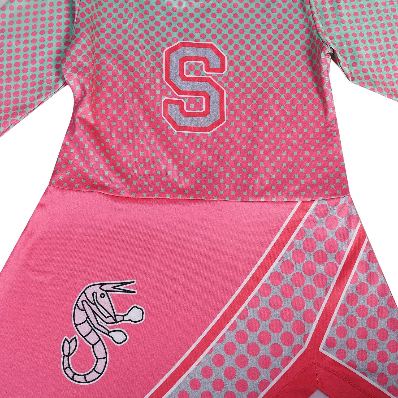 Little Girls Addison Costume Cheerleader Dress Rose for Party Dress up