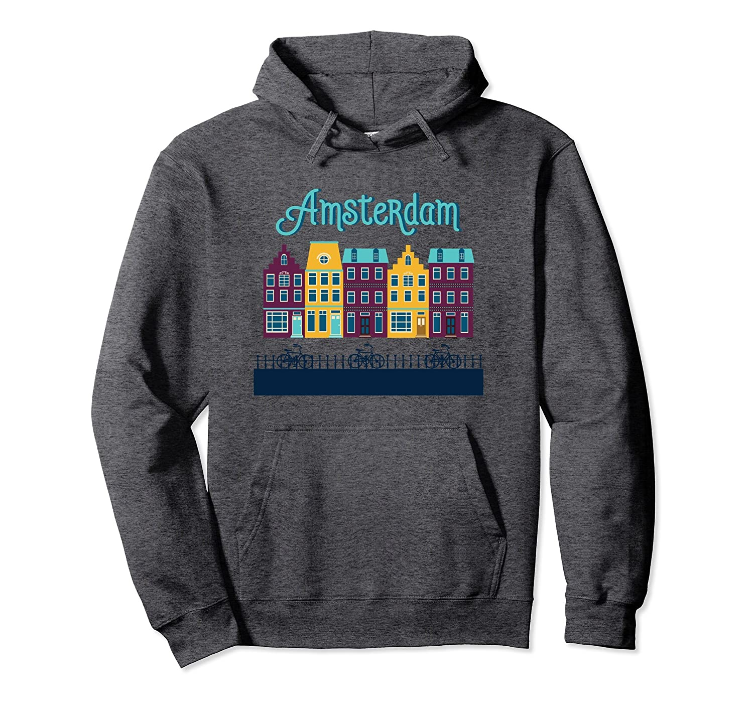Amsterdam Netherlands - Bicycle Europe Pullover Hoodie-TH