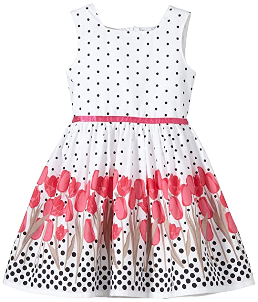 Happy Girls Vestido Niñas, Rosa (pink 36), 110