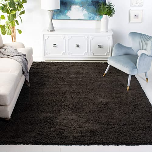 Safavieh Ultra Classic Shag Collection SG140G Handmade 2.25-inch Thick Area Rug