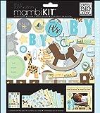me & my BIG ideas 8-Inch x 8-Inch Scrapbook Page Kit, It's a Boy