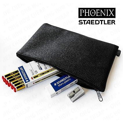 Staedtler - Juego de lápices Noris 120 HB, goma de borrar y ...
