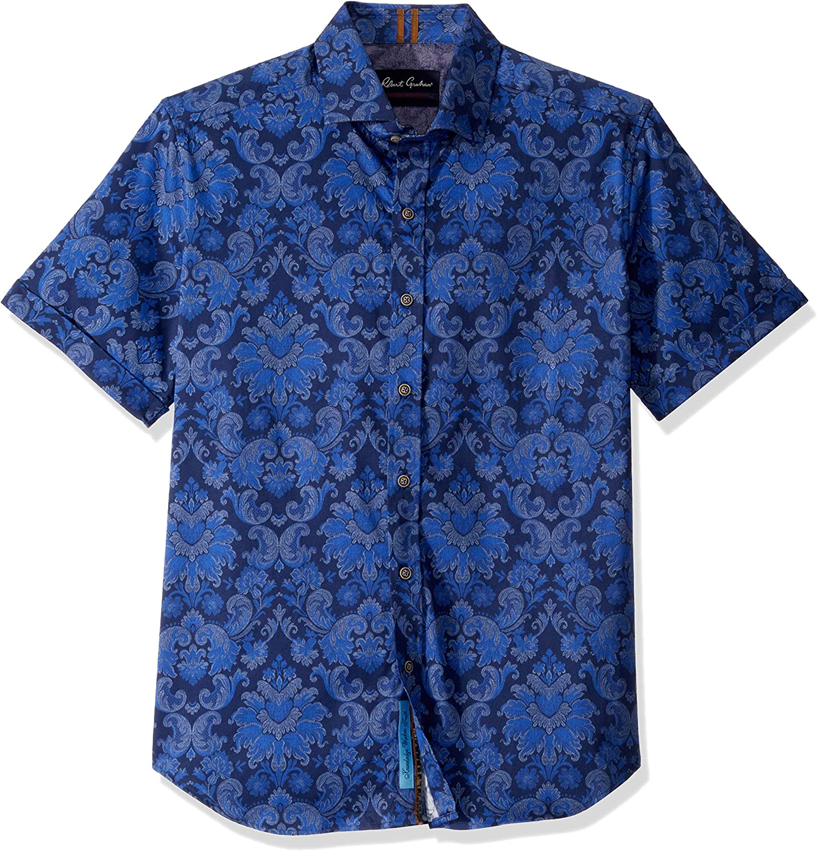 Robert Graham Mens Wrights S//S Woven Shirt