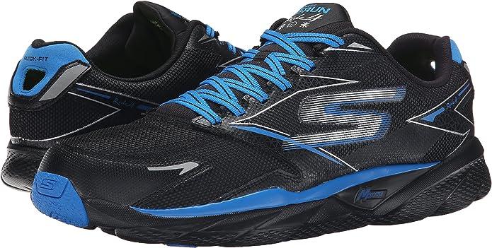 Skechers53998 - Skechers 53998 Hombre , Negro (Azul/Negro), 45.5 EU: Amazon.es: Zapatos y complementos