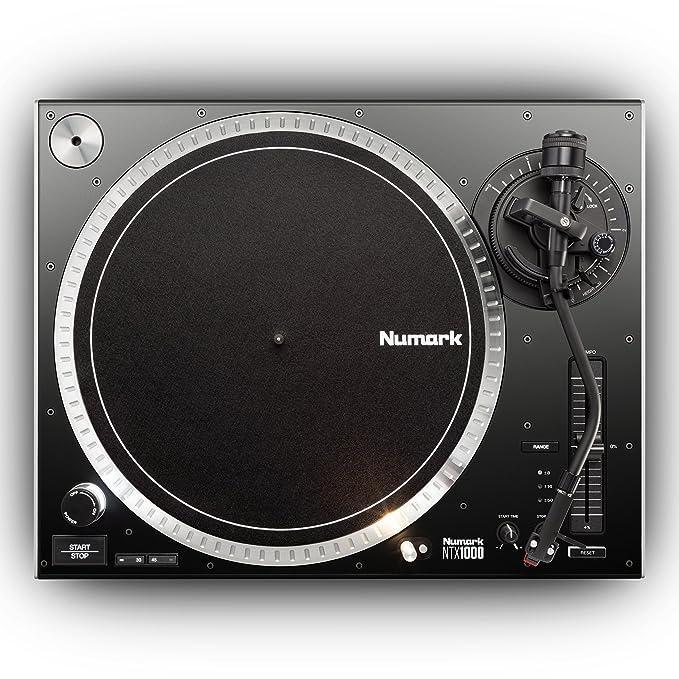 Numark NTX1000 - Plato Giradiscos de DJ Profesional de Tracción ...