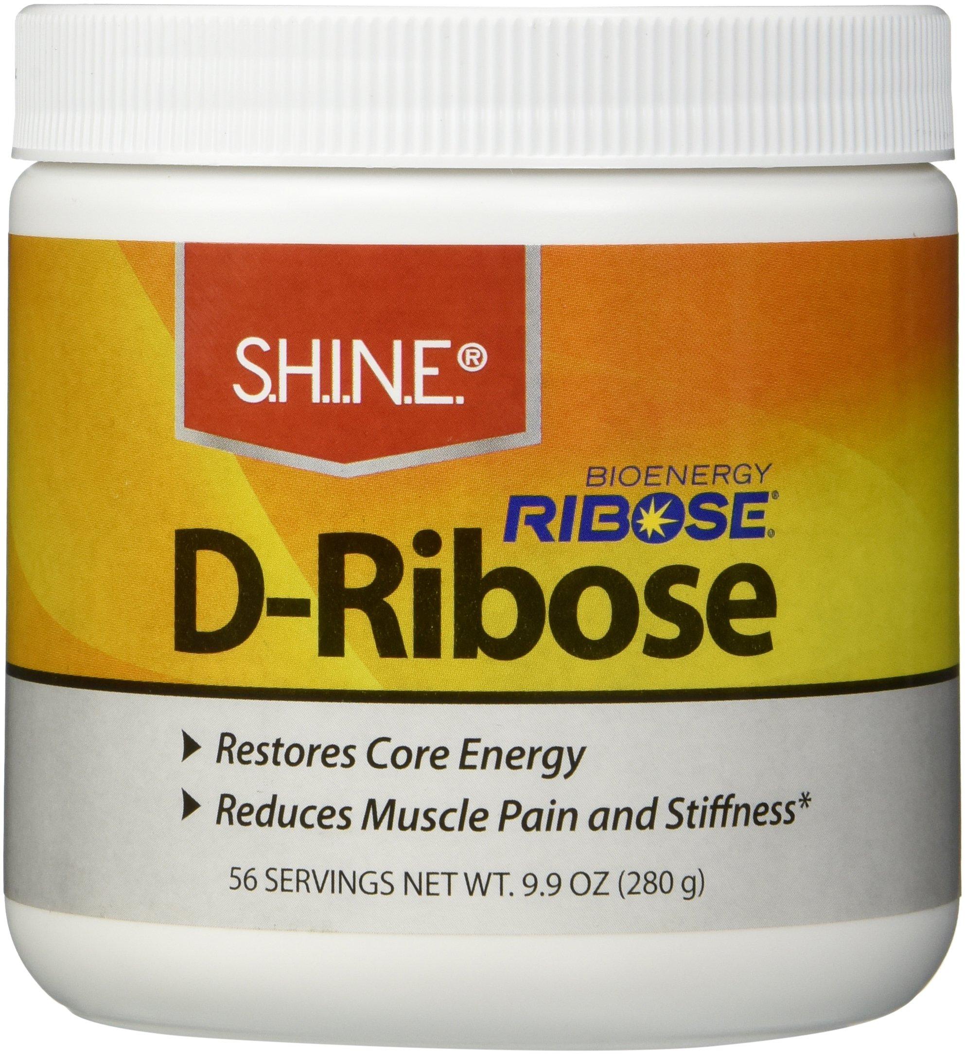 S.H.I.N.E.® D-Ribose With Bioenergy Ribose® 9.9 oz (280 g) by Shine
