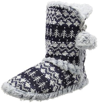 Dunlop Women's Abelle Hi-Top Slippers: Amazon.co.uk: Shoes & Bags