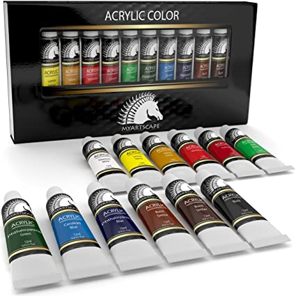 Amazon Acrylic Paint Set Artist Quality Paints For Painting