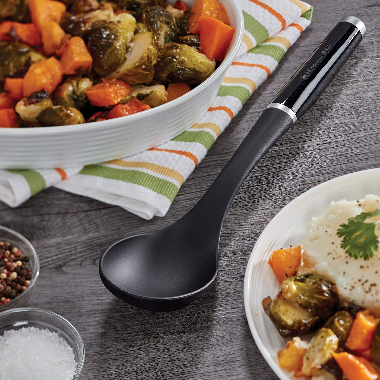 Kitchenaid Classic Basting Spoon One Size Black 2 Kitchen Dining